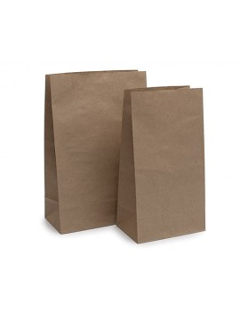 Bolsa de papel kraft americana 26x41+14(2*200)
